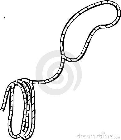Grand cilpart. Western clipart lasso clipart black and white stock