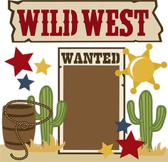 Pictures clip art printable. Western clipart wild west banner royalty free