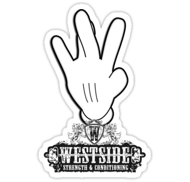Western drawing hand. Westside signal clipart