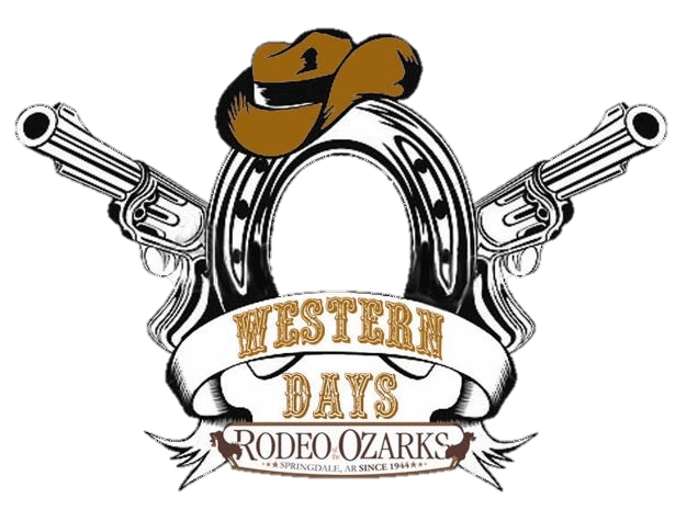 Western drawing gun. Days event rodeo of