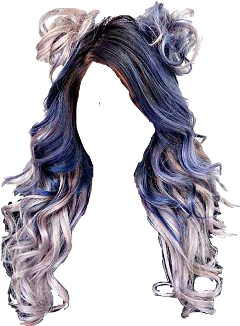 Wet clipart wig. Popular and trending hair