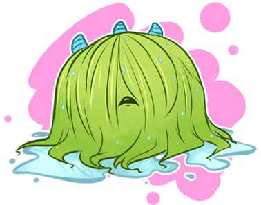 Wet clipart wig. Wigs pngline pin