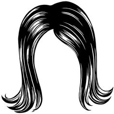 Wet clipart wig. Shears and comb clipartfest
