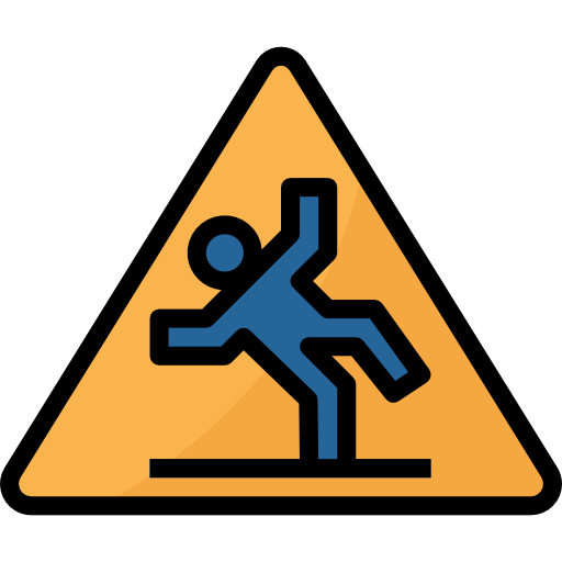 Wet floor caution sign icon png. Free signaling icons