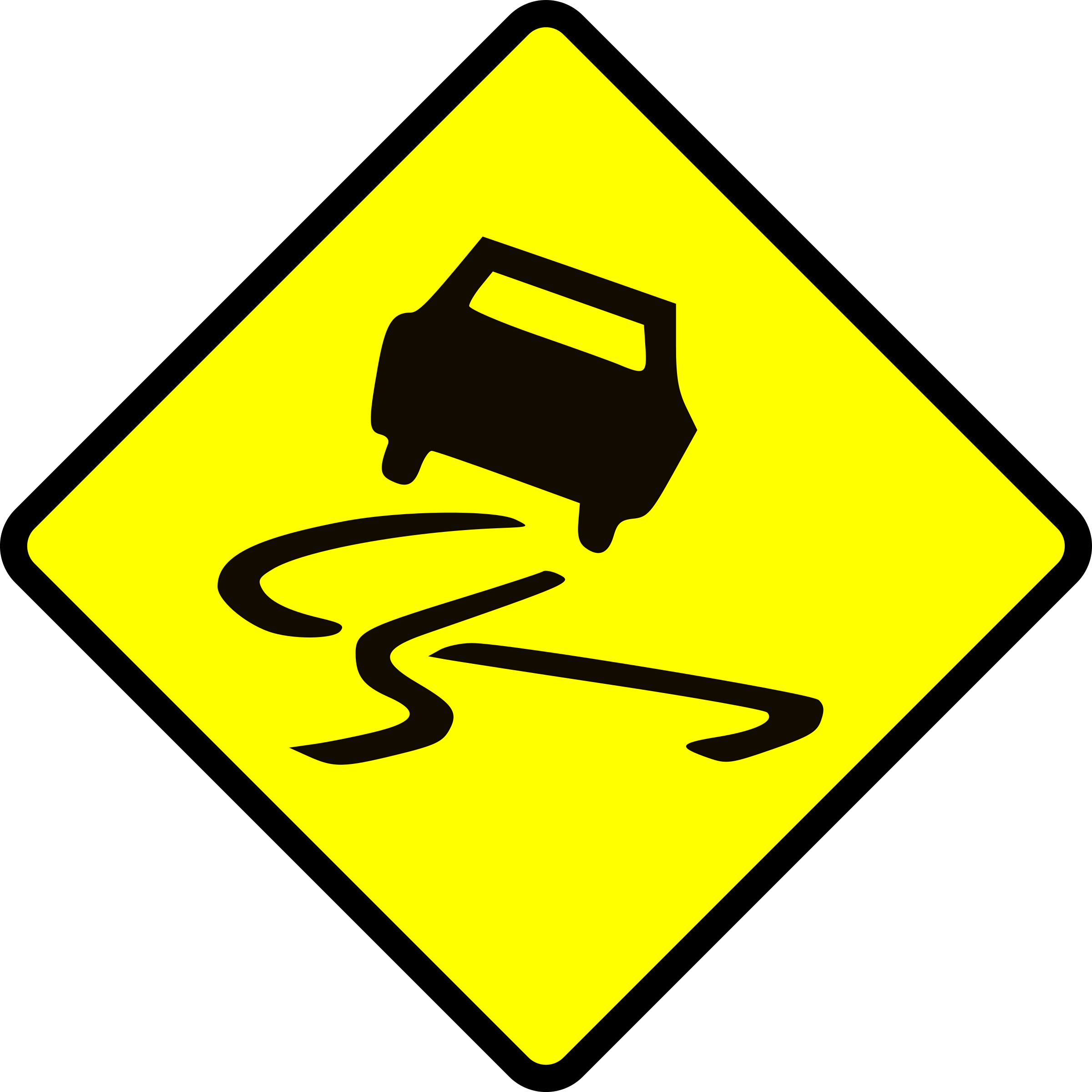 Wet floor caution sign icon png. Slippery when icons free