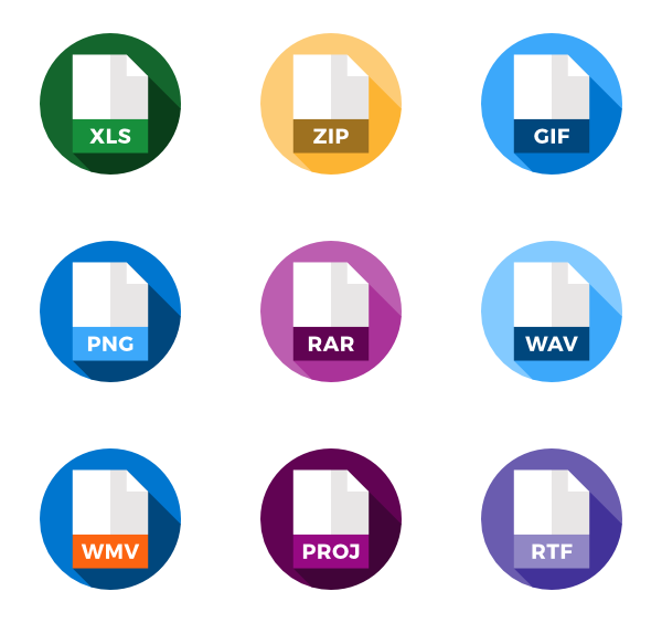 What are png files. File format icon