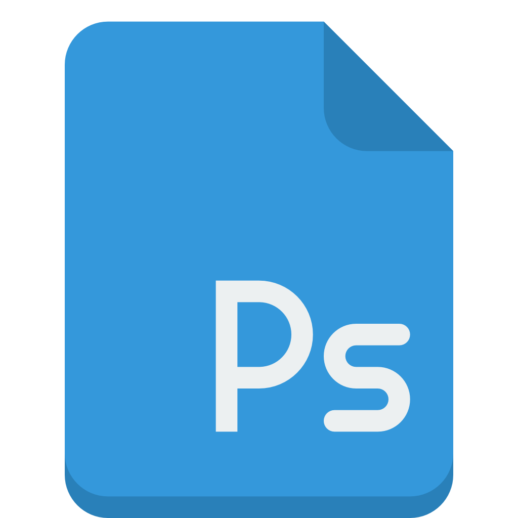 Adobe photoshop png files free download. File icon small flat