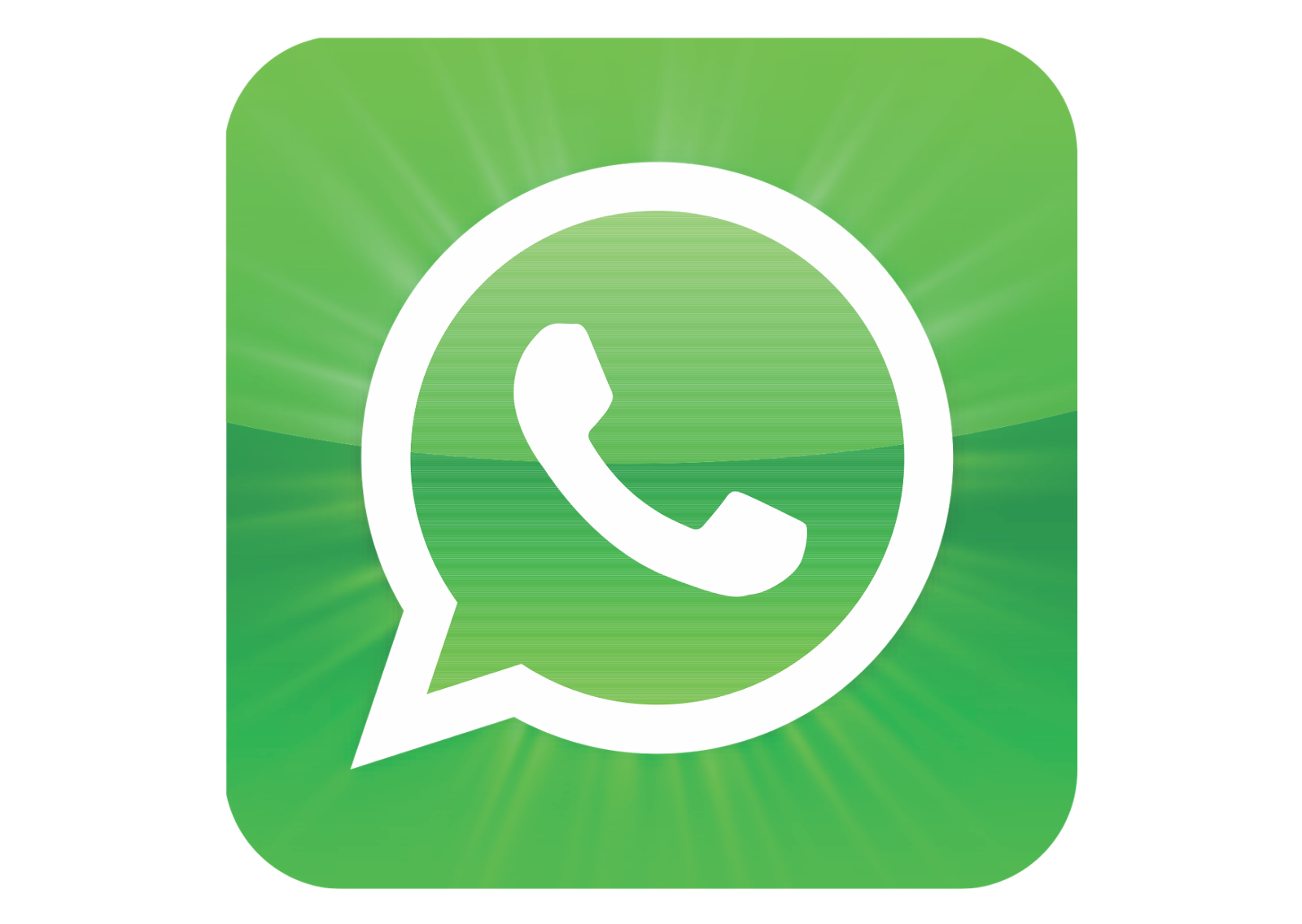 What is a png format. Whatsapp logo transparent stickpng