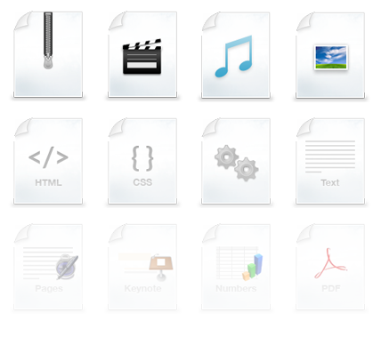 What is .png file extension. Free type icons set