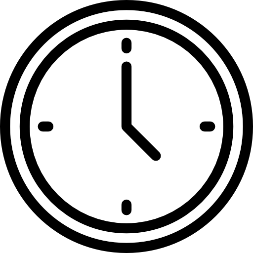What is the time in png. And date icon svg