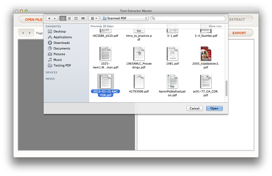 Convert png to pdf files. How extract text from