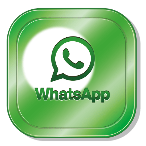 Whatsapp png logo. Square transparent svg vector