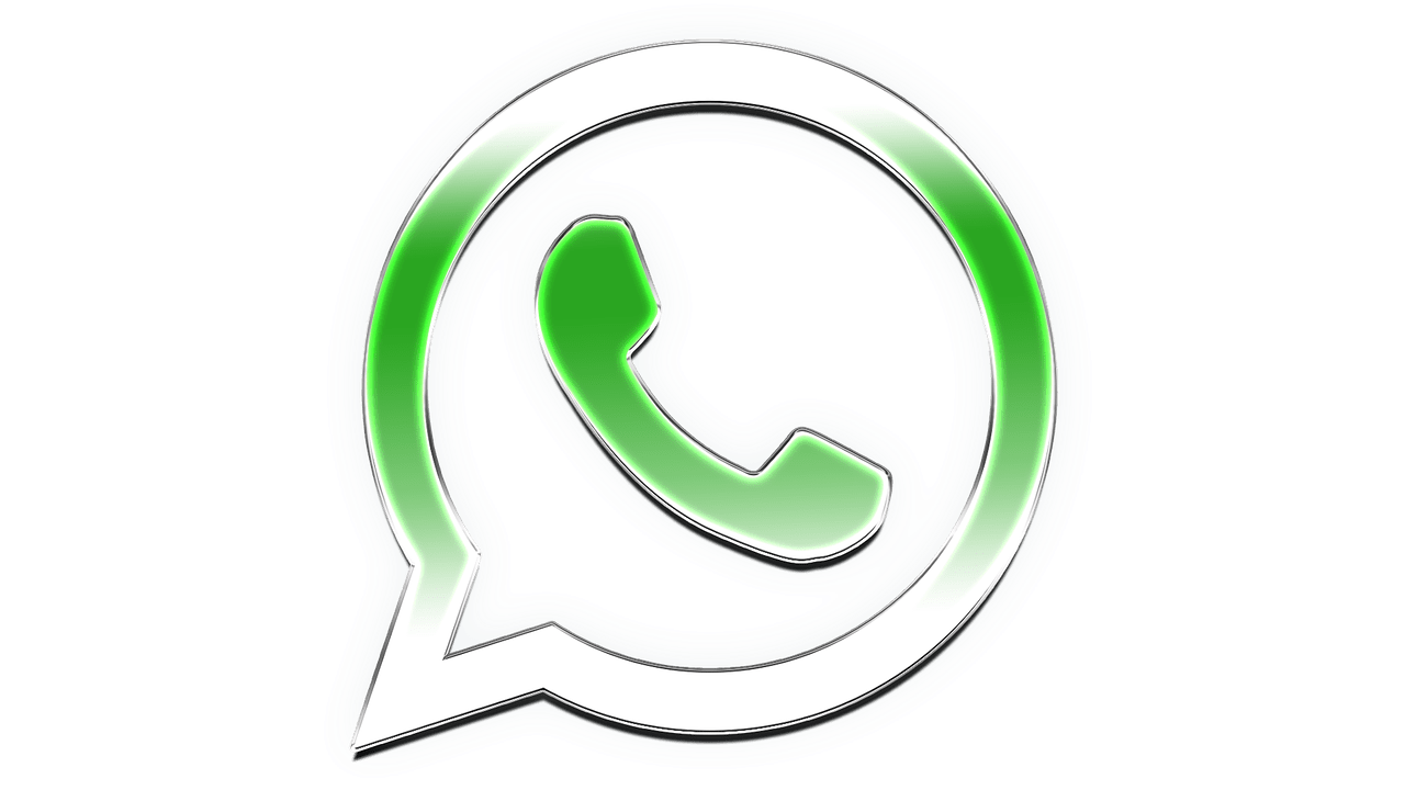 logo whatsapp png blanco