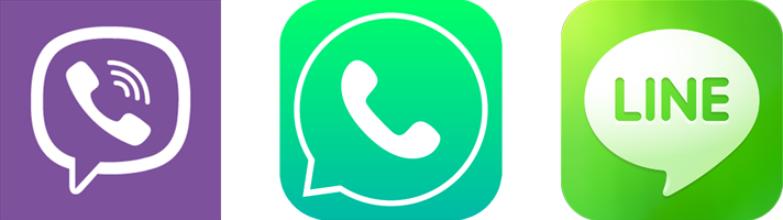 Whatsapp skype viber logo png. How to survive abroad