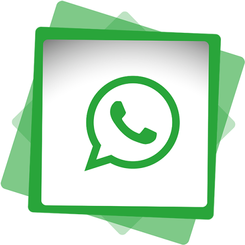 Whatsapp vector icon. Download hd social media