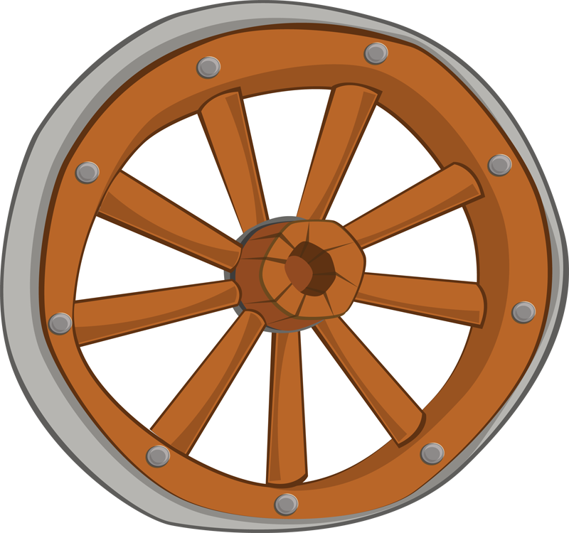 Wagon vector western. Free wheel cliparts download
