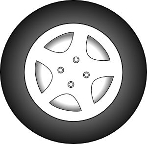 Wheels clipart mag wheel. Chrome rims clip art