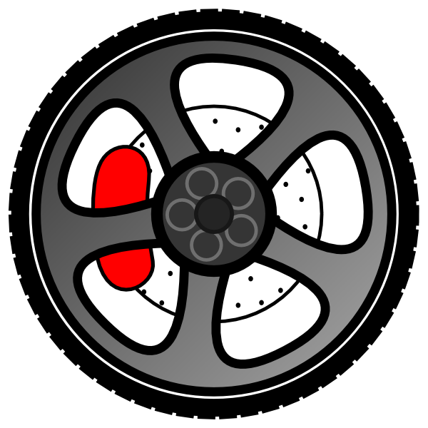 Wheel clipart animated. Clip art at clker