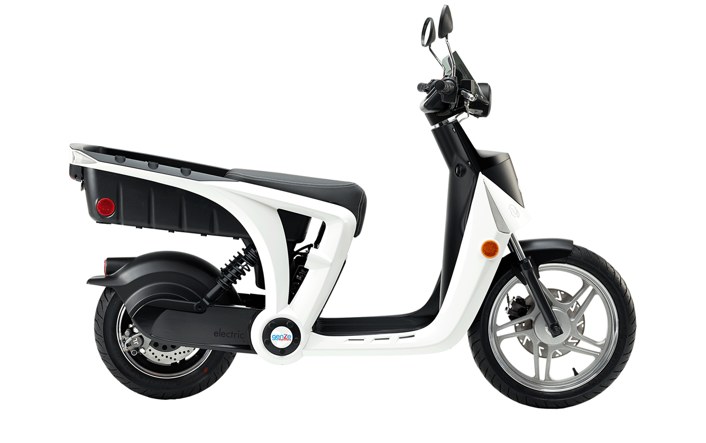 Scooter vector old. E electric two wheel