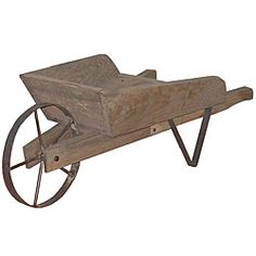 Wheelbarrow clipart antique wood. Old fashioned reproduction wooden