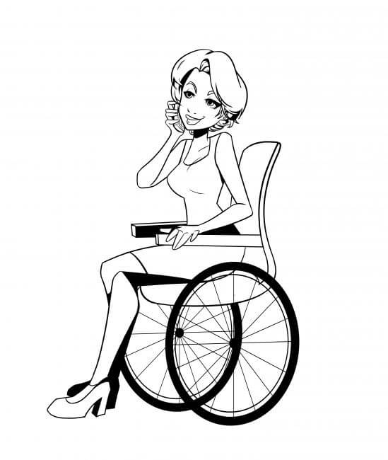 Wheelchair clipart draw. Wheel chair drawing at