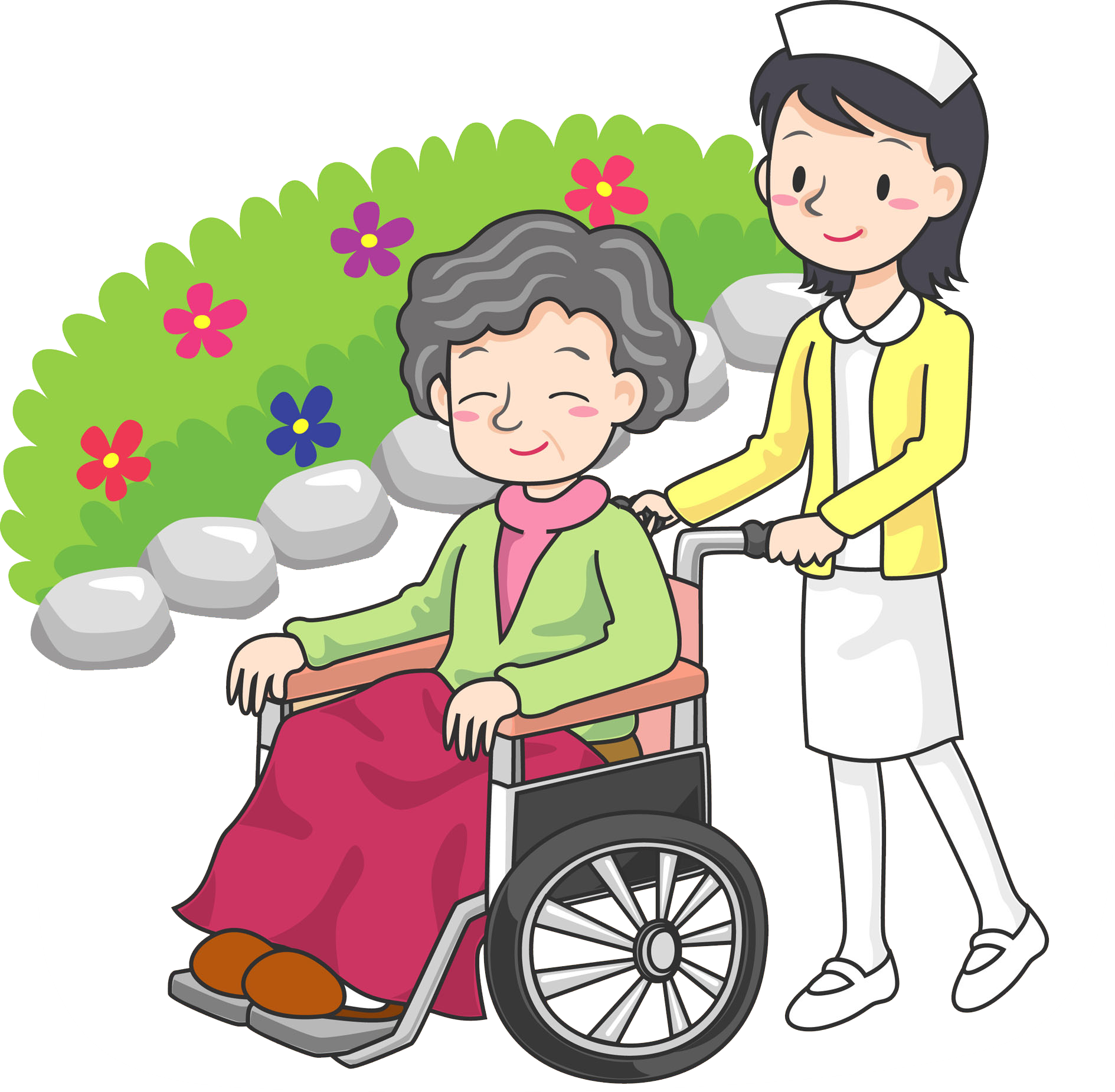 Wheelchair clipart nurse wheelchair. Injury disability person clip