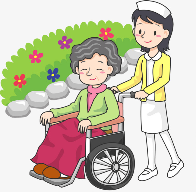 Wheelchair clipart nurse wheelchair. The pushed man for