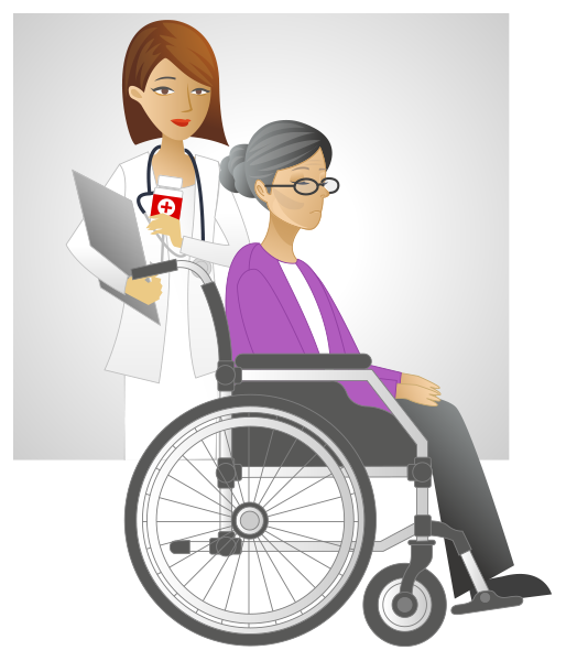 Wheelchair clipart nurse wheelchair. Prescription for danger medication