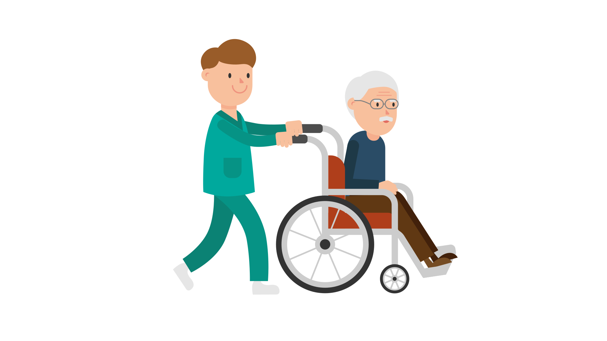 Wheelchair clipart nurse wheelchair. File pushing a patient