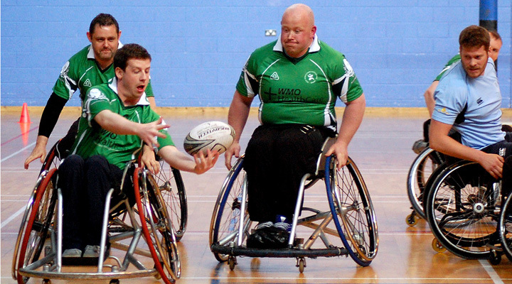 Wheelchair clipart wheelchair rugby. Irish s challenge matches
