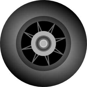 Wheels clipart. Bsantos inline skate wheel