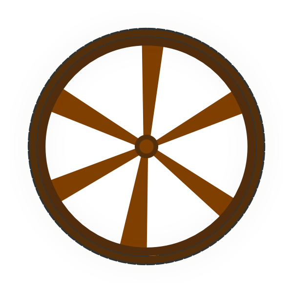 Wheels clipart. Wagon wheel clip art