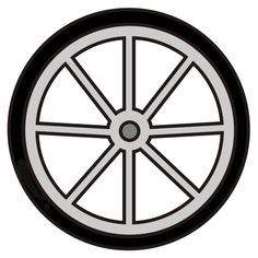 Wheels clipart. Bike wheel panda free
