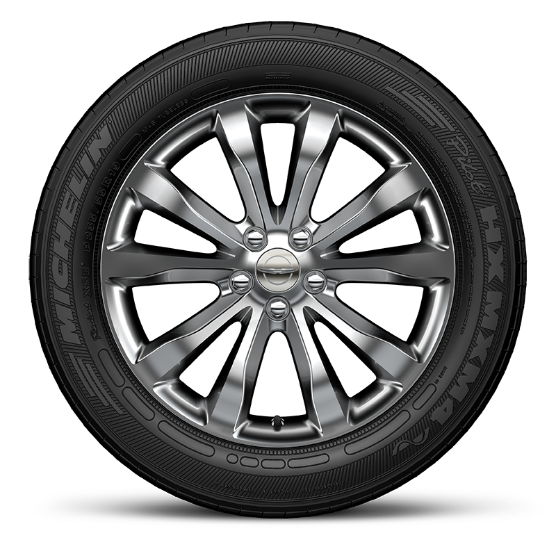 Wheel transparent aluminum. Car png image