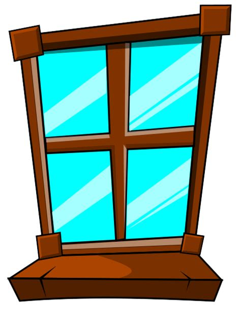Where is in clipart pane. Icy window clip art