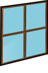Where is in clipart pane. Window clip art at