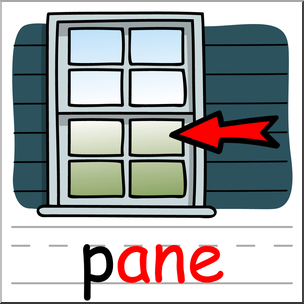 Where is in clipart pane. Clip art basic words