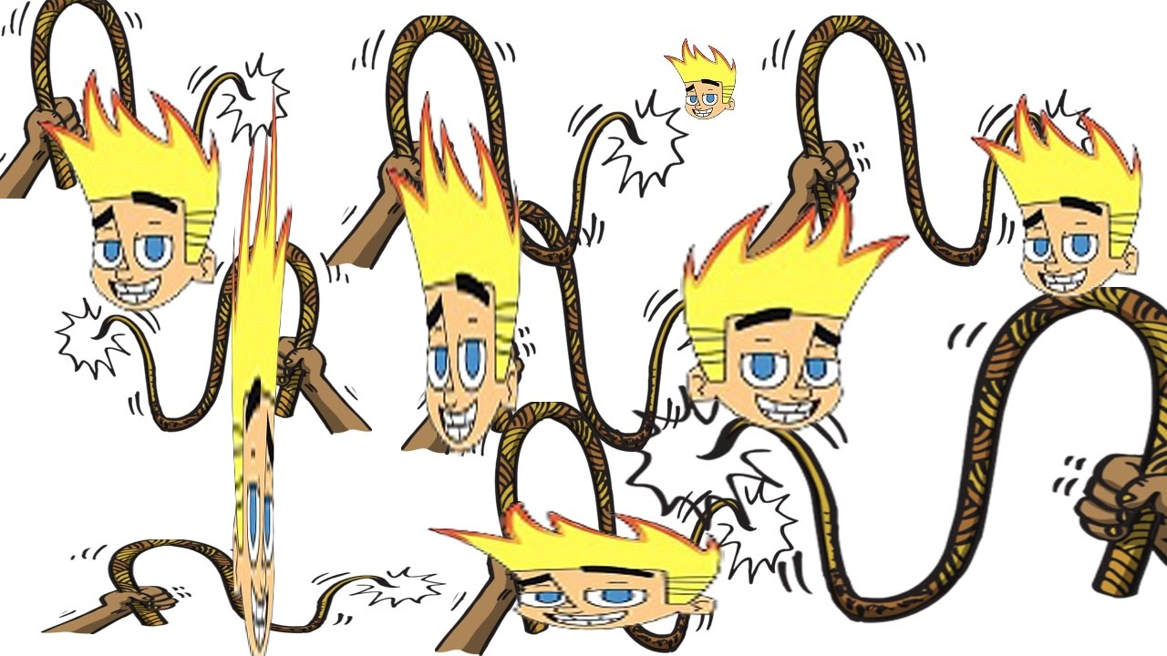Whip clipart johnny test. An episode of but
