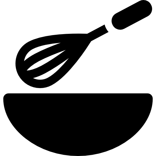 Whisk clipart baker. And bowl free icons
