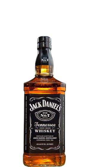 Whiskey drawing jack daniels bottle. Old no ml