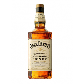 Whiskey drawing jack daniels bottle. Tennessee honey american ml