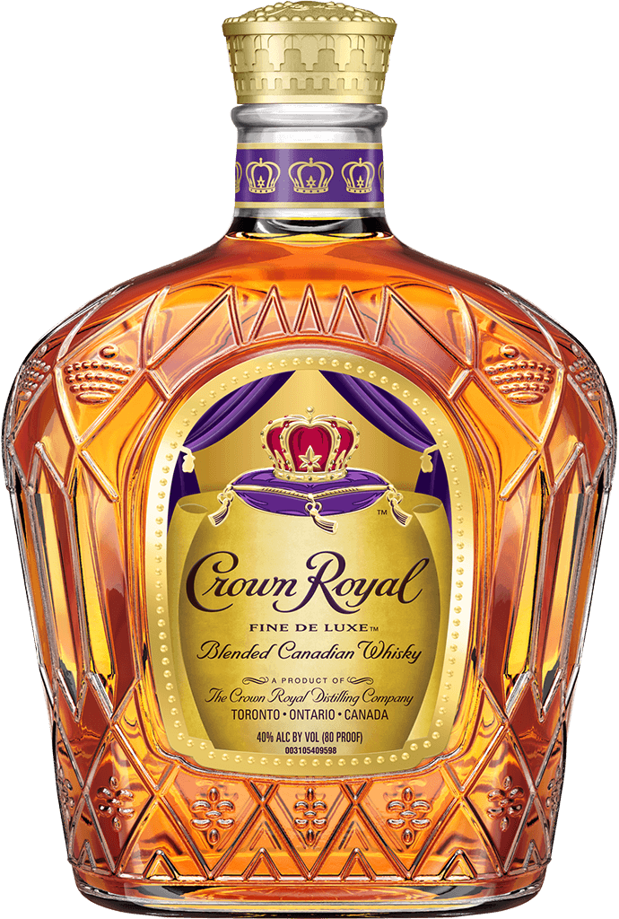 Whiskey vector scotch glass. Crown royal history who