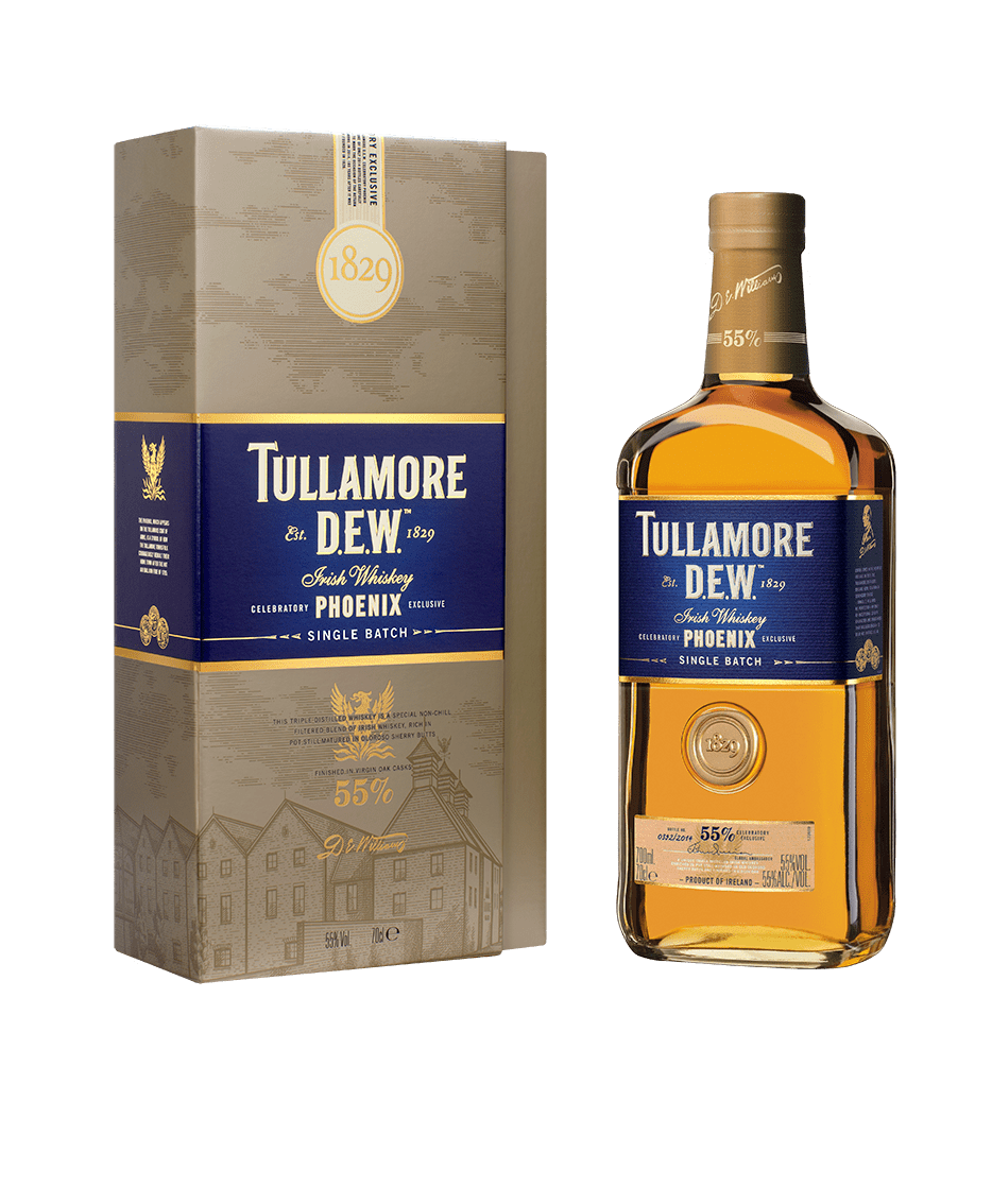 Whiskey drawing moonshine. Review tullamore d e