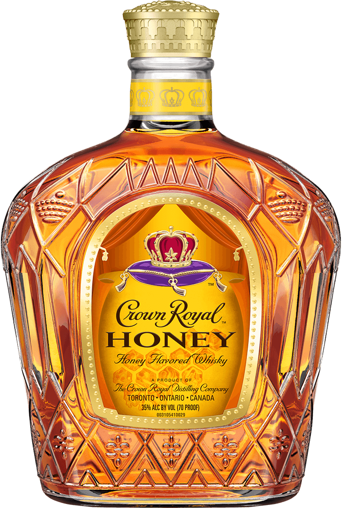 Whiskey drawing brandy bottle. Crown royal history who
