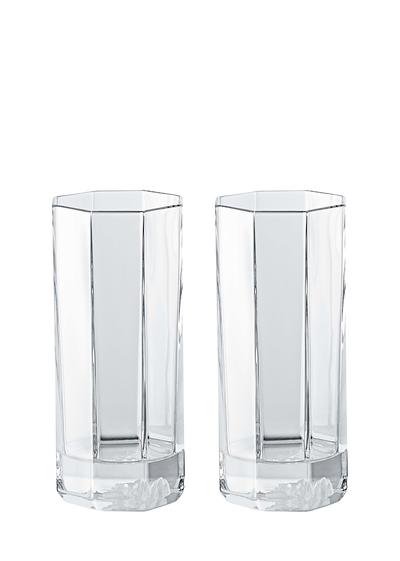 Whiskey drawing tumbler glass. Versace home luxury crystal