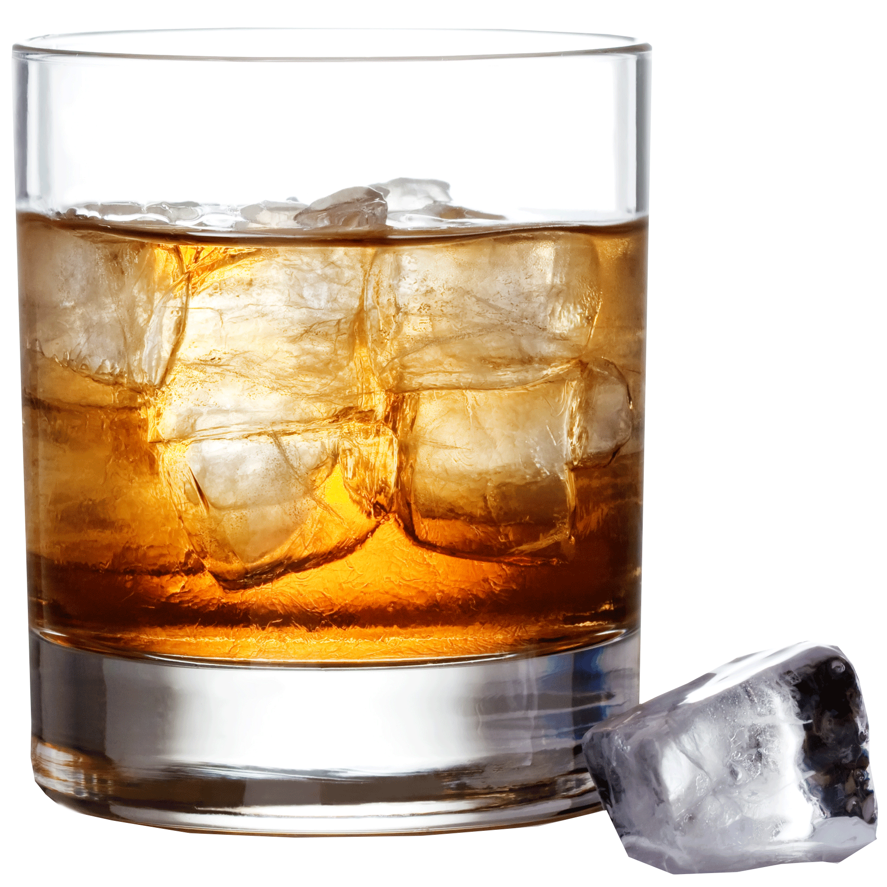 whiskey drawing glass