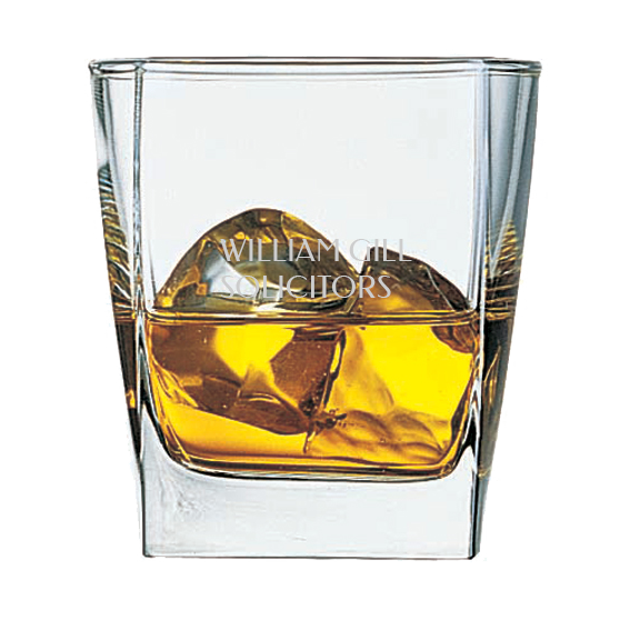 Whiskey glass png. Cube whisky glasses unprinted