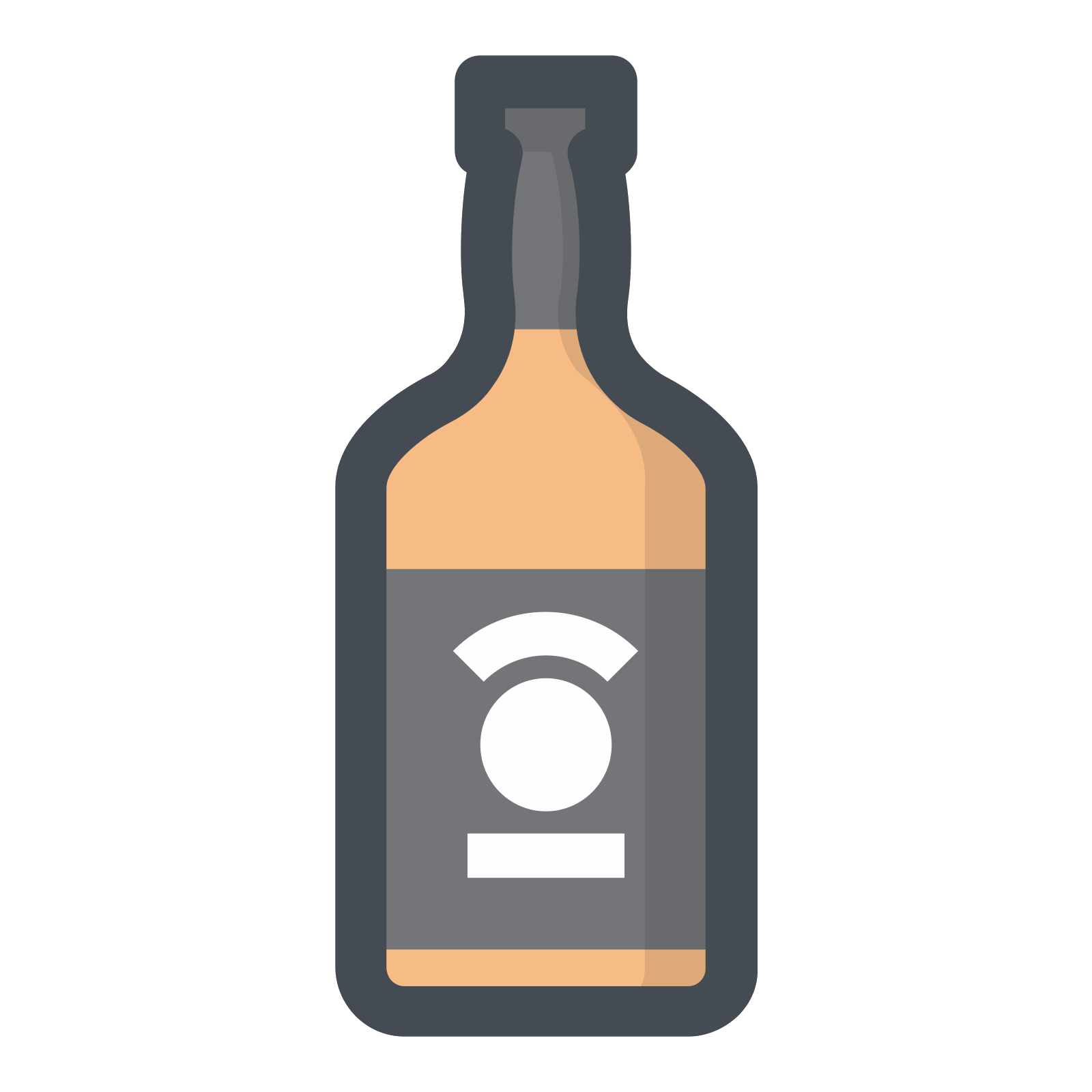 Whiskey vector. Icon free download png