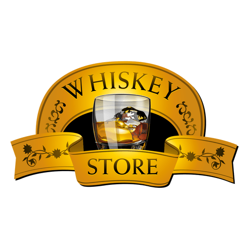 Whiskey vector. House logo transparent png