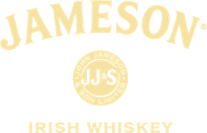 Whiskey vector logo. Jameson irish ai free